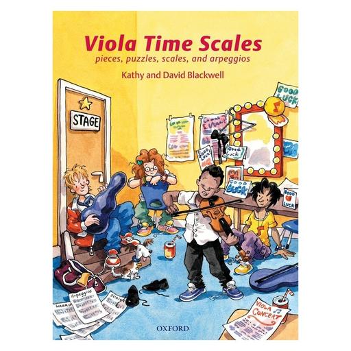 Oxford University Press Blackwell, K.&D.: Viola Time Scales (viola)