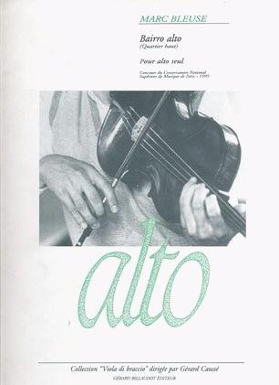 Carl Fischer Bleuse, Marc: Bairro Alto (viola solo)