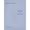 Broude Brothers Limited Bloch, Ernest: Suite for Viola Solo (viola solo)