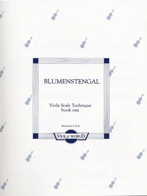 Blumenstengel, A. (Arnold): Viola Scale Technique book 1