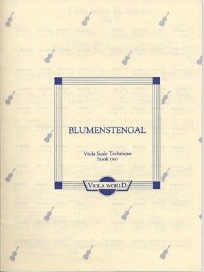 Blumenstengel, A. (Arnold): Viola Scale Technique book 2