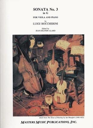 LudwigMasters Boccherini, Luigi (Alard): Sonata No.3 in g (viola & piano)