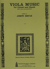 HAL LEONARD Boetje: Music for Concert & Church (viola & piano)