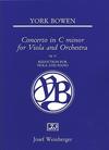 HAL LEONARD Bowen, York: Viola Concerto in C Minor, Op. 25 (viola & piano)