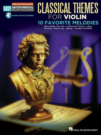 HAL LEONARD Classical Themes for Violin-10 Favorite Melodies (audo access to playalong track included)