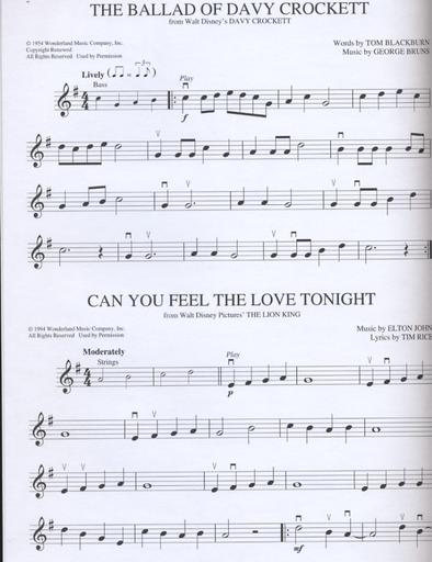 HAL LEONARD Disney for Violin-10 Classic Songs (violin & CD)