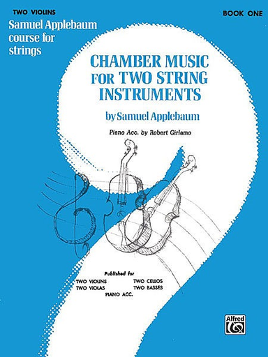 Alfred Music Applebaum: Chamber Music for Two String Instruments Vol.1 (2 violins) Alfred Music