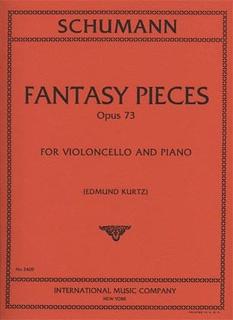 International Music Company Schumann, Robert (Kurtz): Fantasy Pieces Op.73 (cello & piano)