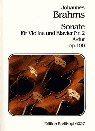Brahms, Johannes: Sonata #2 Op.100 A maj (violin & piano)