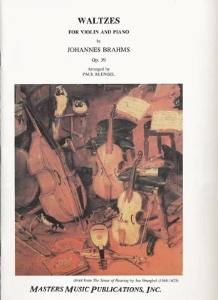 LudwigMasters Brahms, Johannes (Klengel): Waltzes Op.39 (violin & piano)