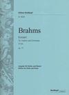 Brahms, Johannes: Concerto in D major Op.77 Breitkopf Urtext (violin & piano)