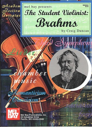 Brahms, Johannes (Duncan): The Student Violinist (violin & piano)