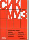HAL LEONARD Kabalevsky, Dmitri (Oistrakh): Concerto in C major, Op.48 (violin & piano)