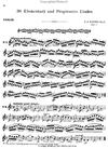 Carl Fischer Kayser, H.E.: Elementary & Progressive Studies Op.20 Book 1 (violin)