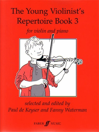 De Keyser, Paul: The Young Violinist's Repertoire Bk.3 (violin & piano)