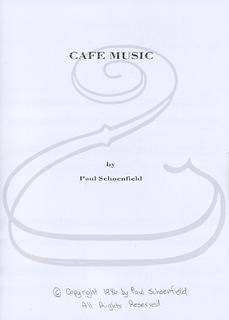 Elkin Music International Schoenfield, P.: (score/parts) Cafe Music (piano trio) Elkin Music International