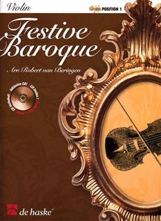 HAL LEONARD van Beringen, Robert: Festive Baroque (violin, Piano, CD)