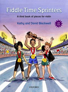 Oxford University Press Blackwell, K.&D.: Fiddle Time Sprinters (violin and CD)