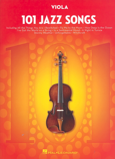 HAL LEONARD 101 Jazz Songs (viola)