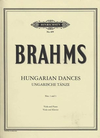Brahms (Forbes): Hungarian Dances Nos.1 & 3 - ARRANGED (viola & piano) Edition Peters