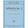 International Music Company Brahms, J.: Sonata Op.120, No.2 (viola, and piano)