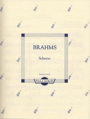 Brahms, Johannes (Arnold): Scherzo (viola & piano)