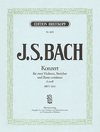 Bach, J.S. (Hofmann): Concerto in D minor, BWV1043 (2 violins, and piano)