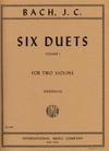International Music Company Bach, J.C. (Friedrich): Six Duets, Volume I (two violins) IMC