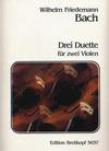 Bach, W.F.: 2 Duets (2 violins)