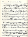 Barenreiter Berwald, F.: Duo Concertant in A Major urtext (two violins)