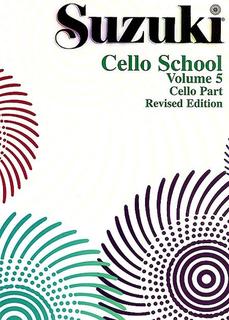 Suzuki: Cello School Vol. 5 (cello, Revised Ed.)