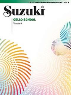 Suzuki: Cello School Vol. 9 (cello & piano)
