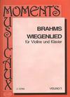 HAL LEONARD Brahms, Johannes: Wiegenlied-Lullaby (violin & piano)