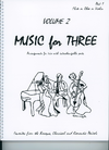 Last Resort Music Publishing Kelley, Daniel: Music for Three Vol.2, Favorites from the Baroque, Classical & Romantic Periods (violin 1)