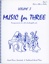 Last Resort Music Publishing Kelley, Daniel: Music for Three Vol.3 Sacred Music, Spirituals & Traditional Jewish Pieces (violin 1)