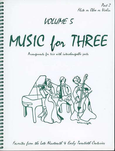 Last Resort Music Publishing Kelley, Daniel: Music for Three Vol.5 Late 19th-Early 20th Century (violin 2)