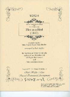 David E. Smith Shindler, M. (Heffler, R.): Flee As a Bird (voice, obligato, piano)