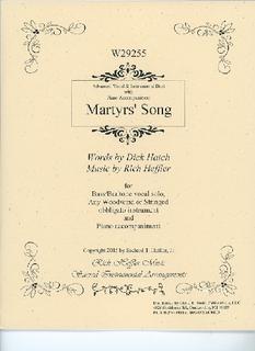 David E. Smith Heffler, D.: Martyr's Song (voice, obligato, piano)