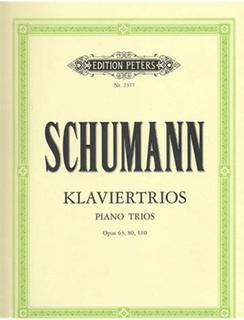 Schumann, R.: Piano Trios/Klaviertrios, Op.63, 80, and 110 (violin, cello, and piano)