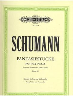 Schumann, Robert: Fantasy Pieces Op.88 (violin, cello, piano)