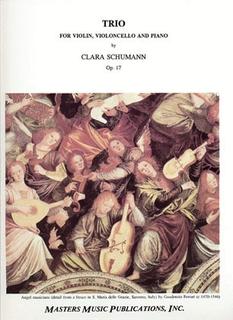 LudwigMasters Schumann, Clara: Piano Trio Op.17 (violin, cello, piano)