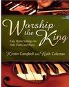 Lorenz Campbell & Coleman: Worship the King - Easy Hymn Settings (violin & piano)(CD) Lorenz