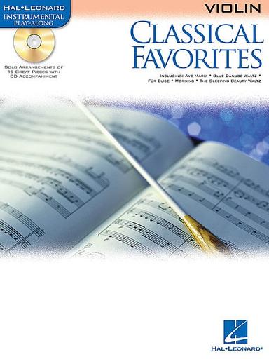 HAL LEONARD Classical Favorites (violin & CD)