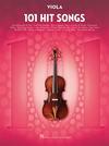 HAL LEONARD 101 Hit Songs Songs (viola)