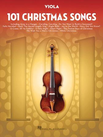 HAL LEONARD 101 Christmas Songs (viola)
