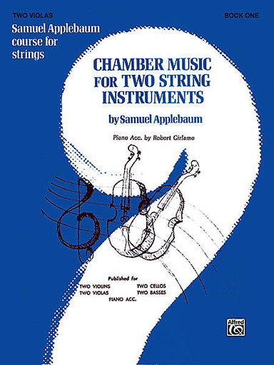 Alfred Music Applebaum, S.: Chamber Music for Two String Instruments V.1 (2 violas)