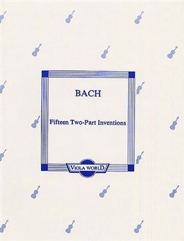 Bach (Arnold): Fifteen Inventions (2 violas)