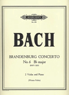 Bach, J.S. (Forbes): Brandenburg Concerto No. 6 in Bb Major (2 Violas, Piano) PETERS