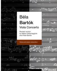 HAL LEONARD Bartok, B. (Dellamaggiore): Viola Concerto-posth. Revised (Viola & Piano)
