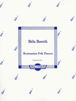 Viola World Bartok: Romanian Folk Dances (viola & piano)